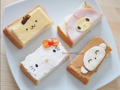 How to make Sanrio toast art