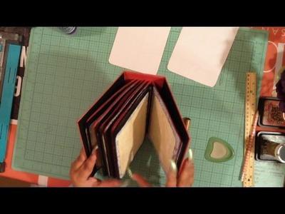 How to Recipe Book Mini Album Part 2