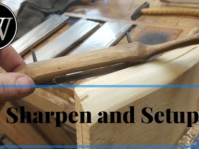 How to Sharpen and Setup a Spokeshave Traditional Wooden Body Spoke Shave