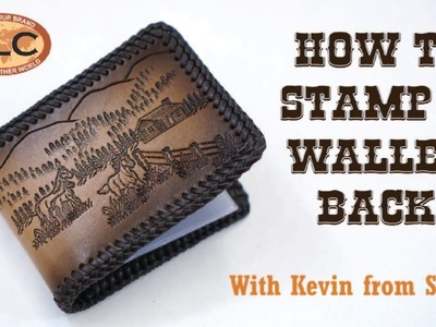 How to Stamp a Leather Wallet