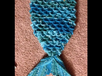 Mermaid Tail Video 1 - cucoon.Blanket.outfit crochet Tamil