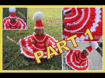 PART 1-How to Crochet Christmas Special Woolen Poshak Vagha Cloth Dress for Lord Little Krishna