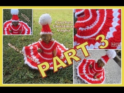 PART 3-How to Crochet Christmas Special Woolen Poshak Vagha Cloth Dress for Lord Little Krishna