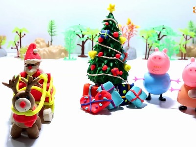 Play Doh Santa Claus Christmas - How To Make Santa Claus with Play-Doh Doh - Christmas Play-Doh