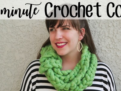 The 15 Minute Wow Crochet Cowl | Perfect for absolute beginners!