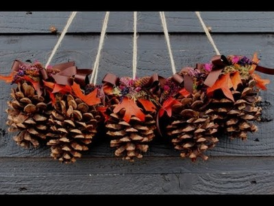 15 DIY CHRISTMAS PINE CONE CRAFTS FOR A FESTIVE DECORATION