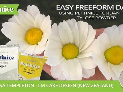 [CAKE TUTORIAL] How to make a freeform Daisy