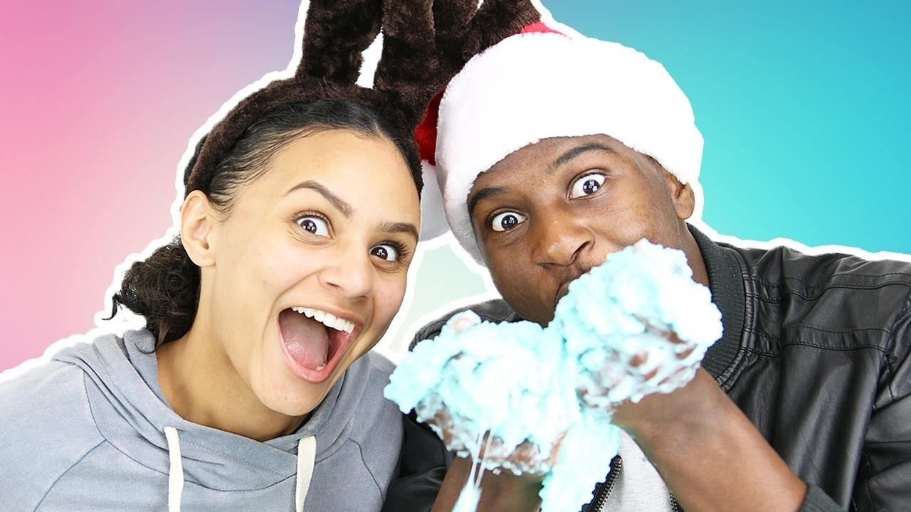 COUPLES DIY FLOAM SLIME WITH TOOTHPASTE!!!