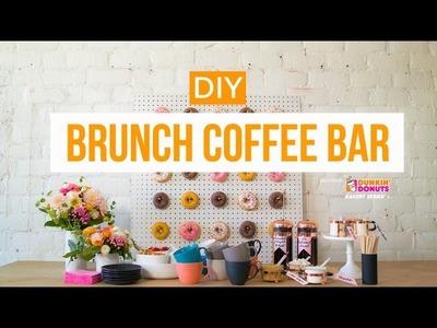 DIY Brunch Coffee Bar