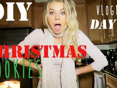 DIY Christmas Cookies: VLOGMAS Day 21