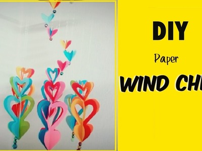 Diy Crafts : Windchime out of Paper