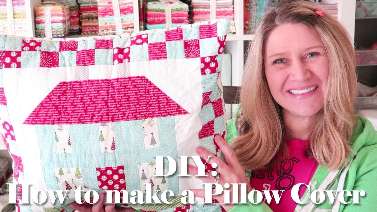DIY How to Make a Pillow Cover