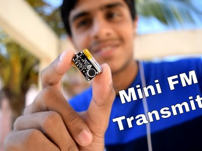 DIY How To Make Make Mini Spy FM Transmitter Bug !