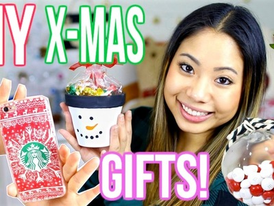 DIY LAST MINUTE CHRISTMAS GIFTS 2016!