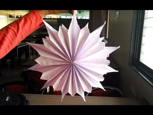 DIY Star from Paper Bag in 2 Minutes #3