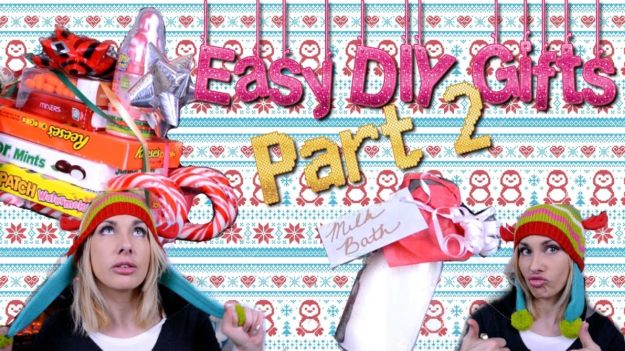 Easy DIY Last Minute Homade Gifts for Any Ocassaion Part 2