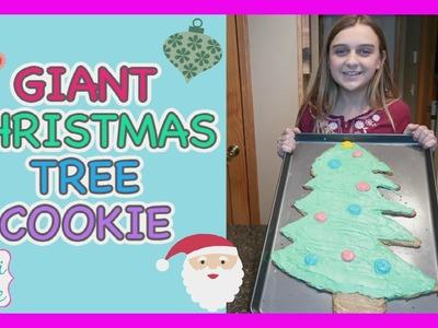GIANT DIY CHRISTMAS TREE COOKIE