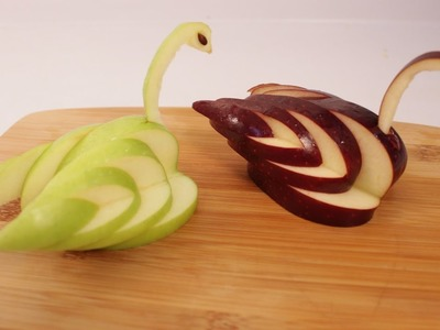 How to make an Apple Swan