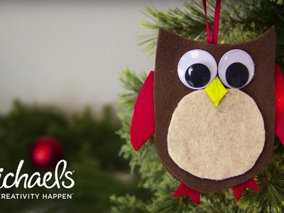 How to Make an Owl Gift Card Ornament | Michaels