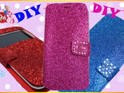 How To Make Cute Sparkly Phone Cases | DIY Zen Garden 3D Modeling Creation for Kids