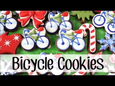 How to Make Decorated Bicycle Cookies