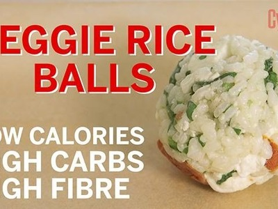 How to make Veggie Rice Balls