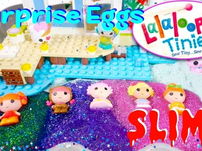 Lalaloopsy Tinies Surprise Character Slime Surprise Eggs Cra-Z-Sand DIY - Kids' Toys