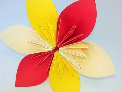 Origami Paper |   How To Make Fold Paper Flower | Art Of​​ Paper Flower |
