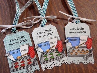 12 Days of Christmas Tags   Day 12 of 12   Sunny Studio Blissful Baking