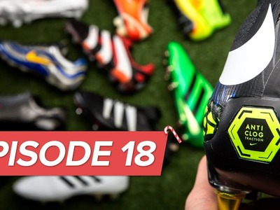 Biggest football boot innovations - Episode 18 | Christmas in Unisport 2016 history of innovation