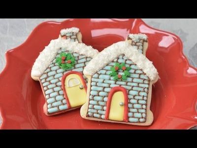 CHRISTMAS HOUSE COOKIES, HANIELA'S