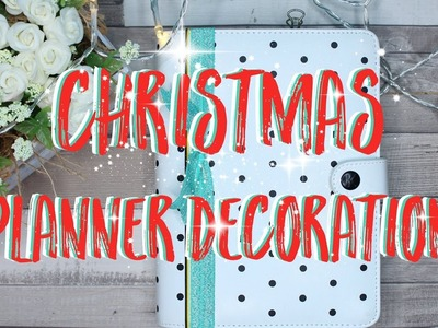 Christmas Medium Planner Setup - Pimp my Planner ♥