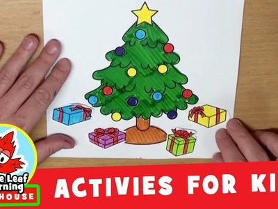 Christmas Present Activity for Kids | Maple Leaf Learning Playhouse