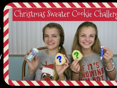 Christmas Sweater Cookie Challenge ~ Jacy and Kacy