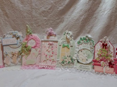 Christmas Tags with 5 Different Nit Wit Collections