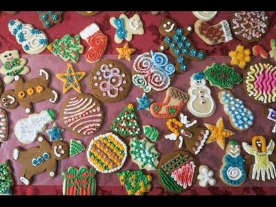 DECORATING CHRISTMAS COOKIES   Gingerbread + Sugar + Icing