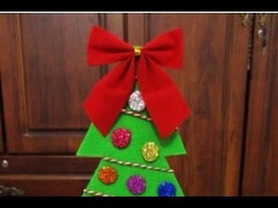 DIY : #160 Christmas Tree with Glitters ♥