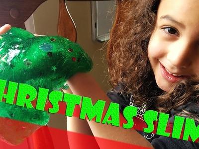DIY Christmas Slime