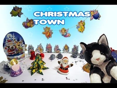 DIY for Kids   Christmas Decorations   Christmas Town