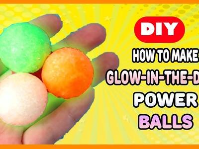 DIY Glow-in-the-Dark Power Balls from ThinkBox | MyToyVillage