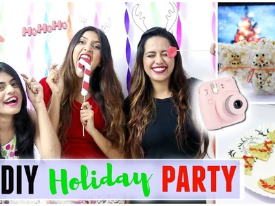 DIY Holiday Party!! Treats & Decor + GIVEAWAY