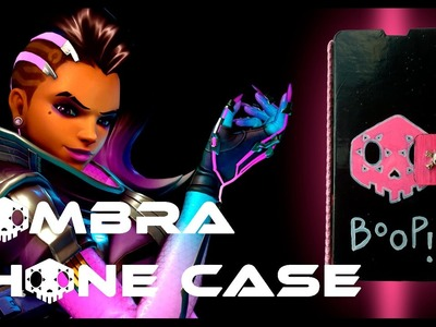 DIY HOW TO MAKE SOMBRA PHONE CASE || OVERWATCH