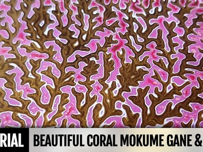 How to make Coral Mokume Gane & Coral polymer clay Scraps utilization. Needed for the NEXT Tutorial