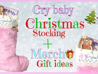 HOW TO : Melanie Martinez Christmas Stocking + Melanie Martinez Merch Gift Ideas | DIY |