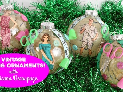 HOW TO: Sewing Ornaments