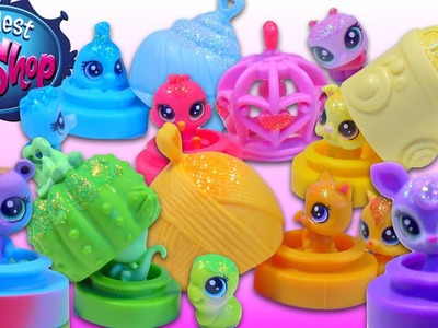 LPS Littlest Pet Shop Rainbow Teensie Pets Habitats + Surprise Toy - Kids' Toys