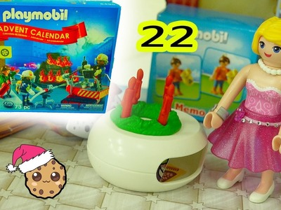 Mom Home - Playmobil Holiday Christmas Advent Calendar - Toy Surprise Blind Bags  Day 22