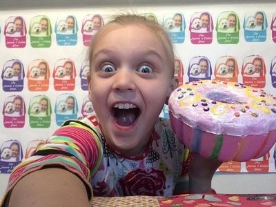NEW i-Jeanne Jumbo Bundt Rainbow Fruitcake Squishy for sale
