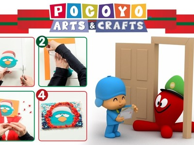 Pocoyo Arts & Crafts: Christmas Card | CHRISTMAS