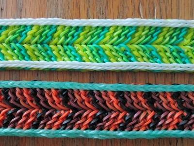 Rainbow Loom- Snek Bracelet (Original Design)